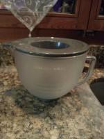 Milchglasschüssel