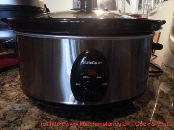 Slow Cooker Silver Crest SSC 200 A1 - Kuchenstories - Cook & Write