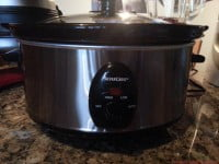 Slow Cooker Silver Crest SSC 200 A1