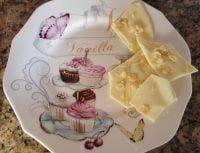Weisse Schokolade mit Ingwer