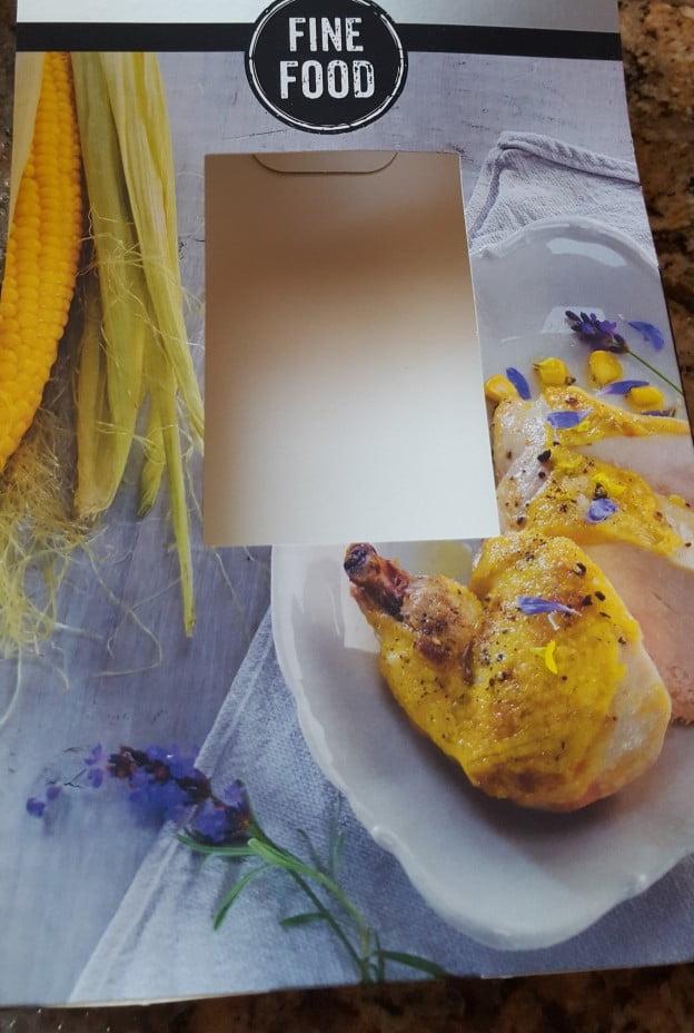 Maispoulardenbrust französische Art
