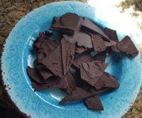 Zartbitterschokolade mit Orangencognac und Kardamom
