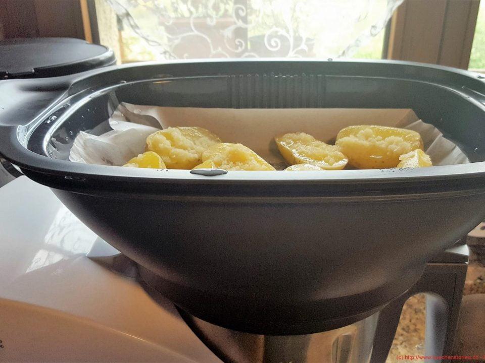 Zwiebelschnitzel mit Knoblauchkartoffeln aus dem MC (6)