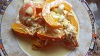 Gedämpfter Currykürbis mit frischem Kren