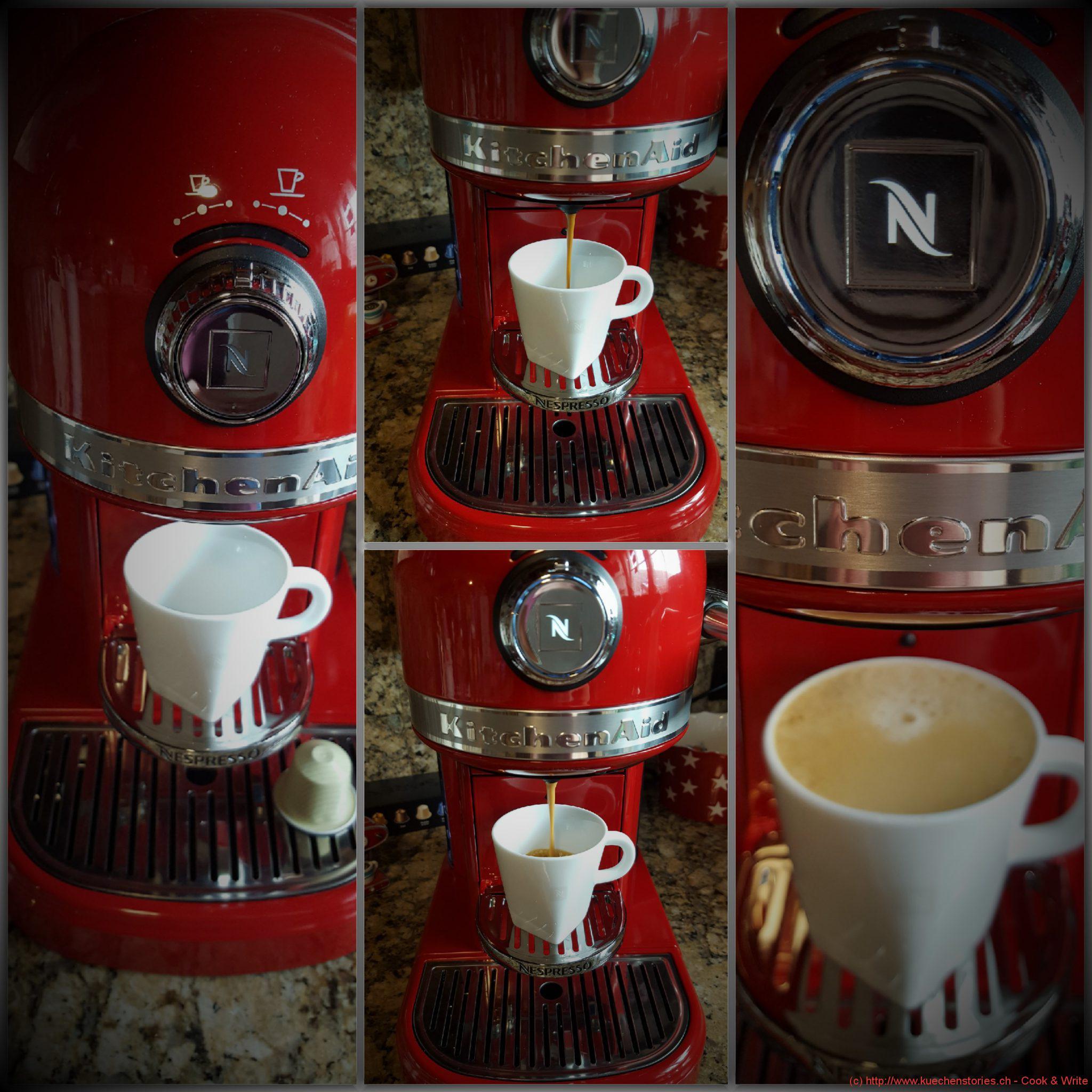 kitchenaid nespresso kaffeemaschine artisan. Black Bedroom Furniture Sets. Home Design Ideas