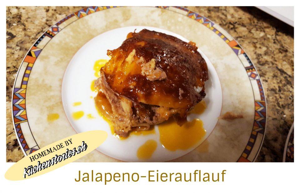 Eierauflauf mit Jalapeno-Oliven
