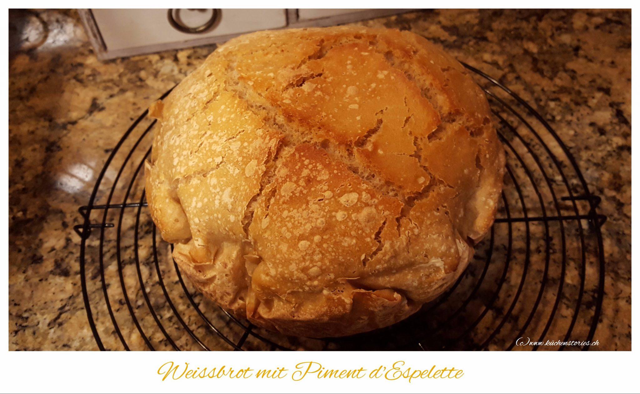 Weissbrot mit Piment d'Espelette