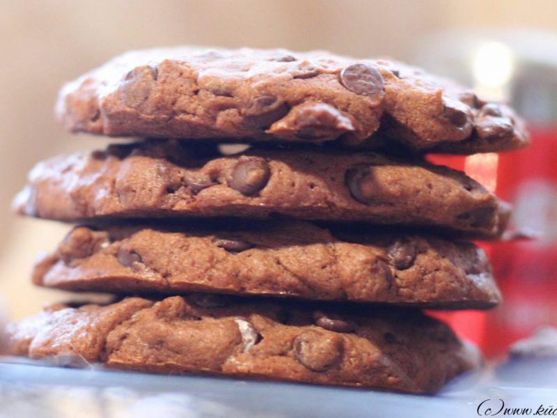 Double Chocolate-Cookies