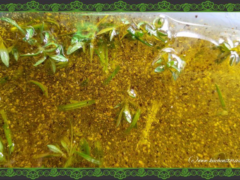 Estragon-Zitronenpfeffermarinade