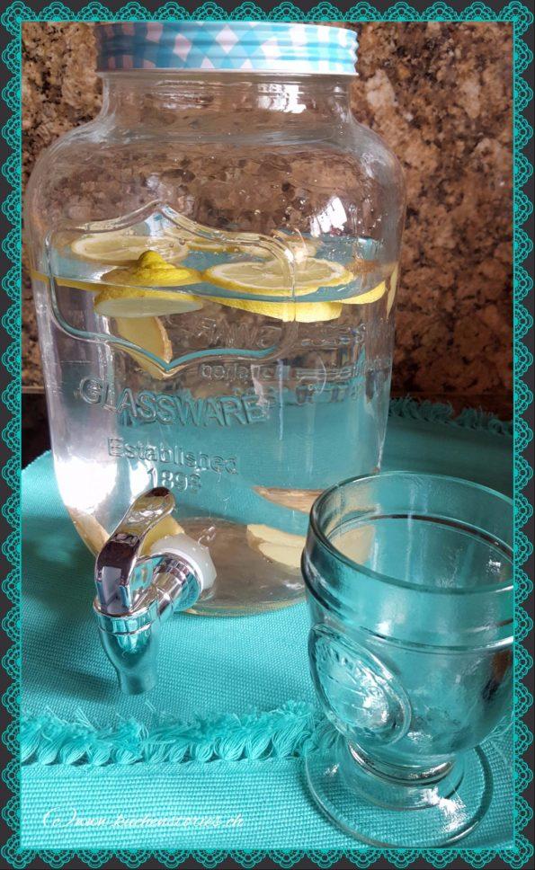 Wasser trinken ist gesund