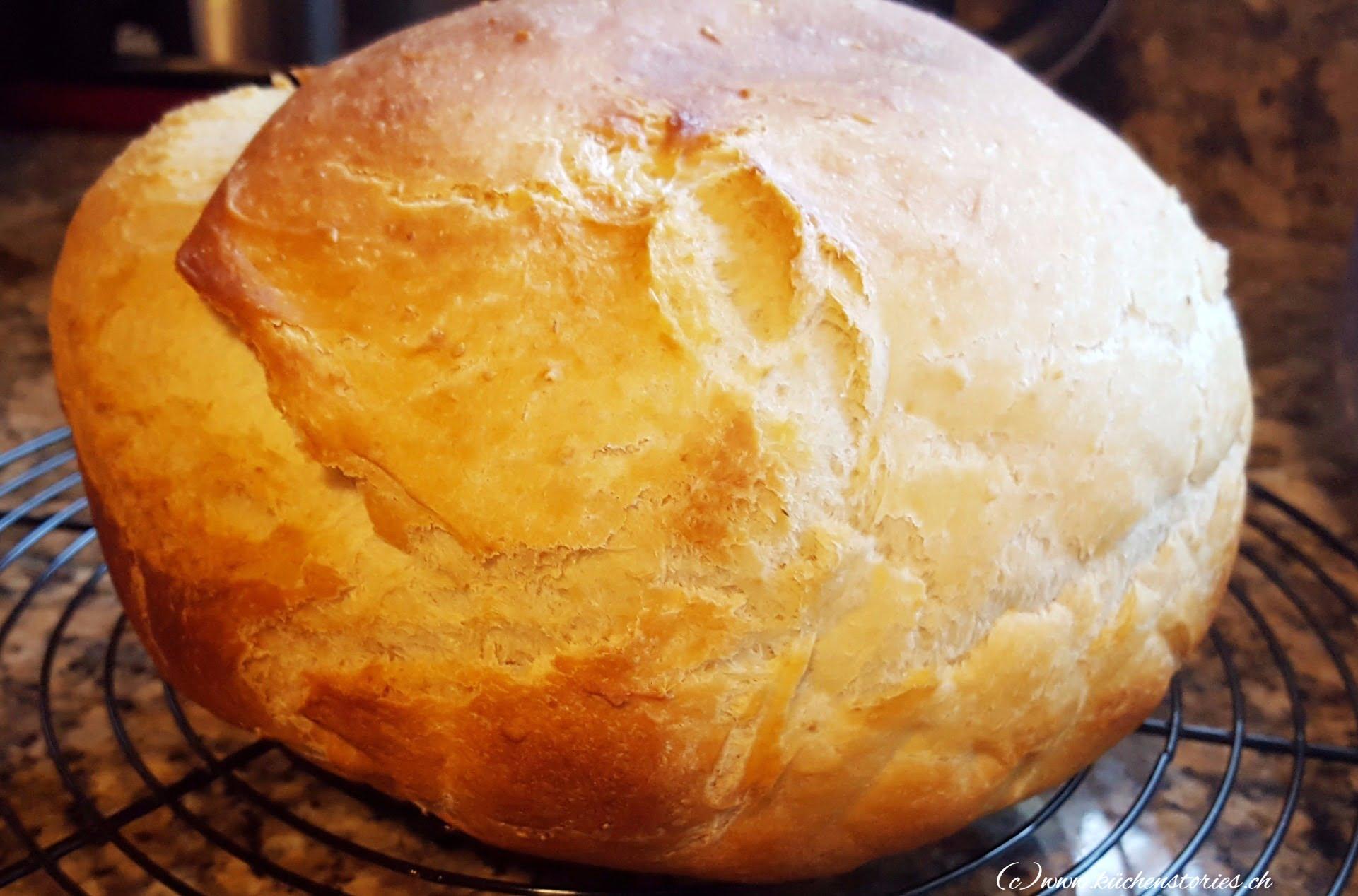 Brot mit Ei