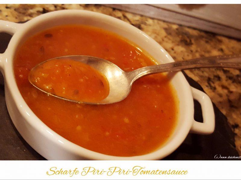 Scharfe Piri-Piri-Tomatensauce