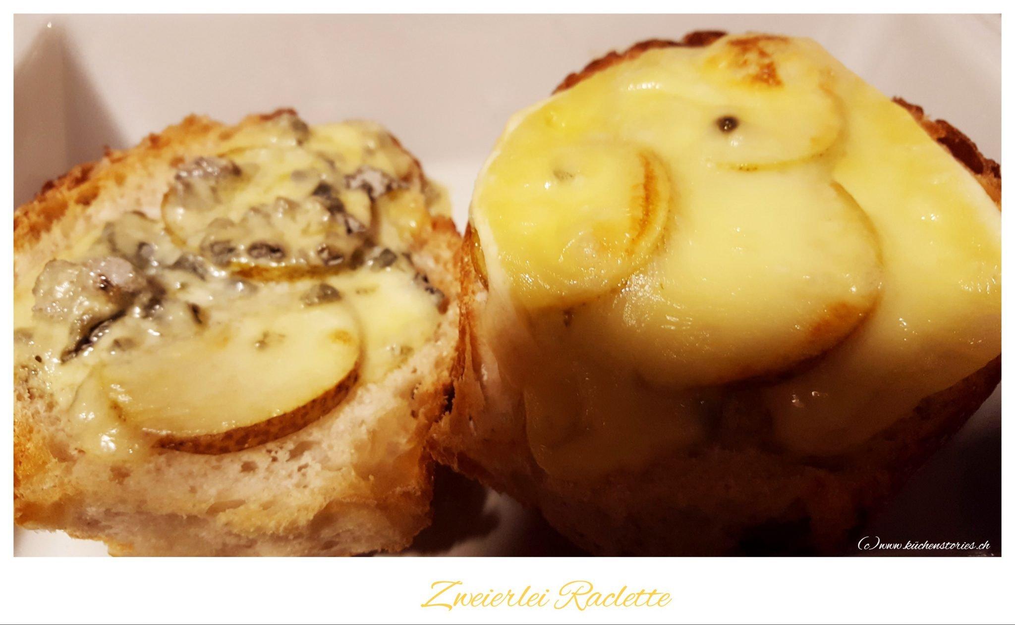 Zweierlei Raclette