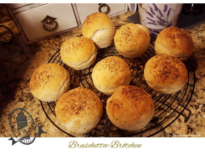 Bruschetta-Brötchen
