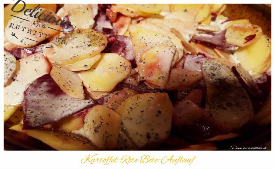 Kartoffel-Rote Bete-Auflauf
