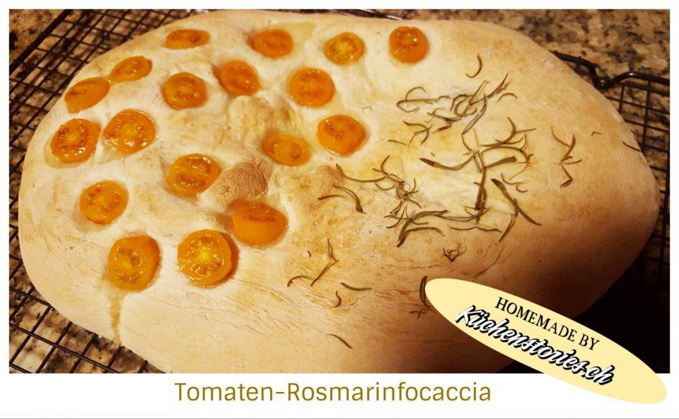 Tomaten-Rosmarinfocaccia