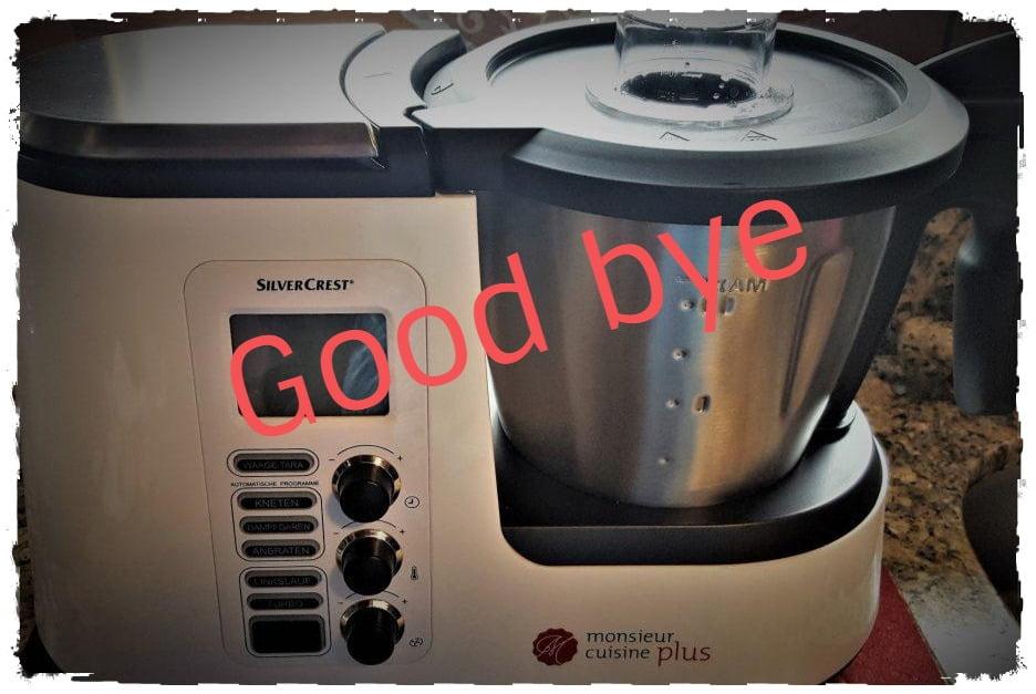 Good bye Monsieur Cuisine Plus - Welcome Moulinex Cuisine Companion