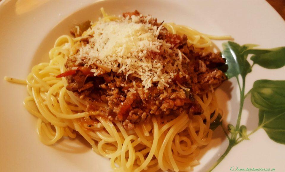 Sauce Bolognese aus dem Cookeo+