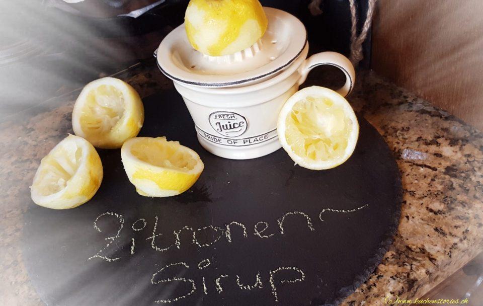 Zitronen-Sirup