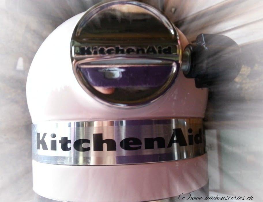 Küchenmaschine Artisan - meine Pink Lady