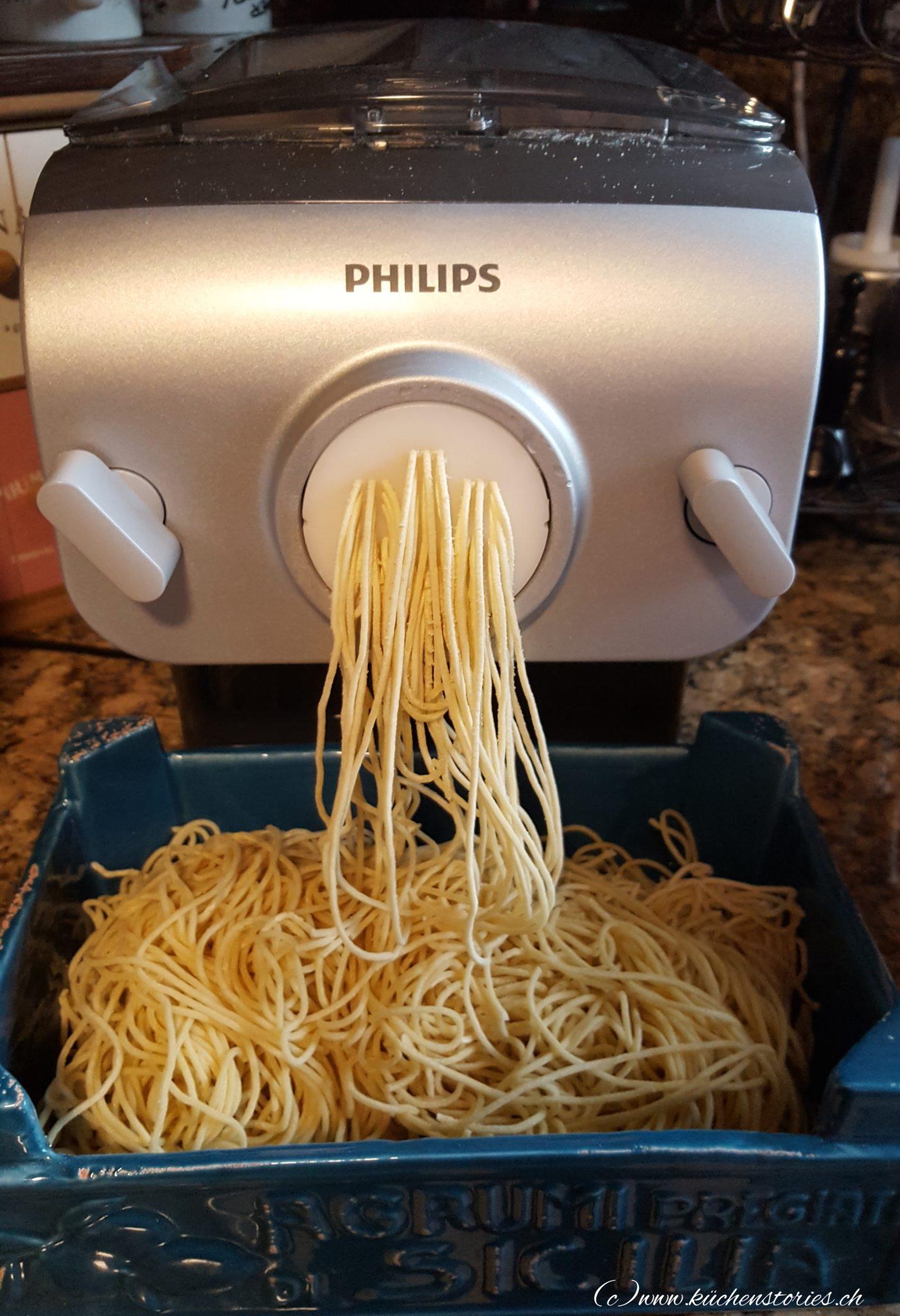 Neuer Küchenhelfer - der Pasta Maker von Philips