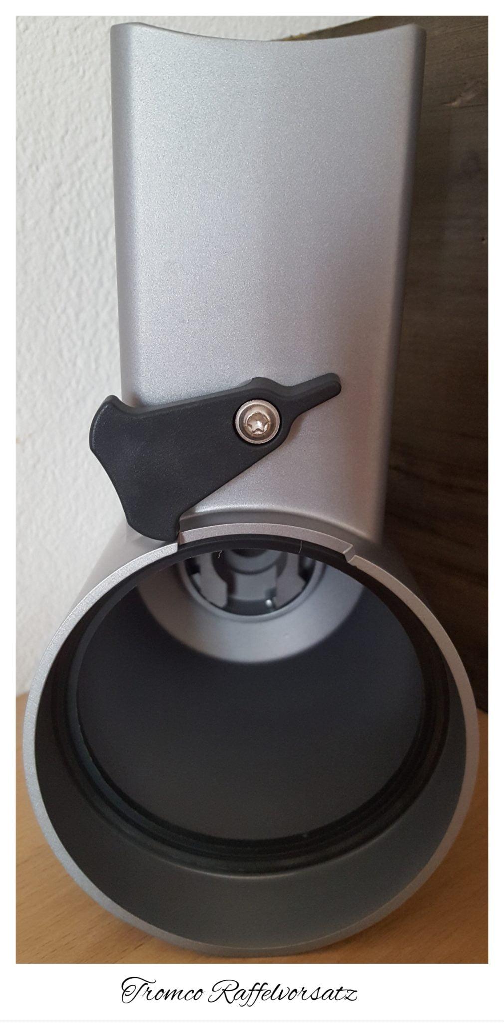 Raffelvorsatz für die KitchenAid aus dem Hause Tromco Protec GmbH