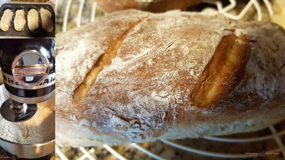 Neues Backblech – schnelles Brot
