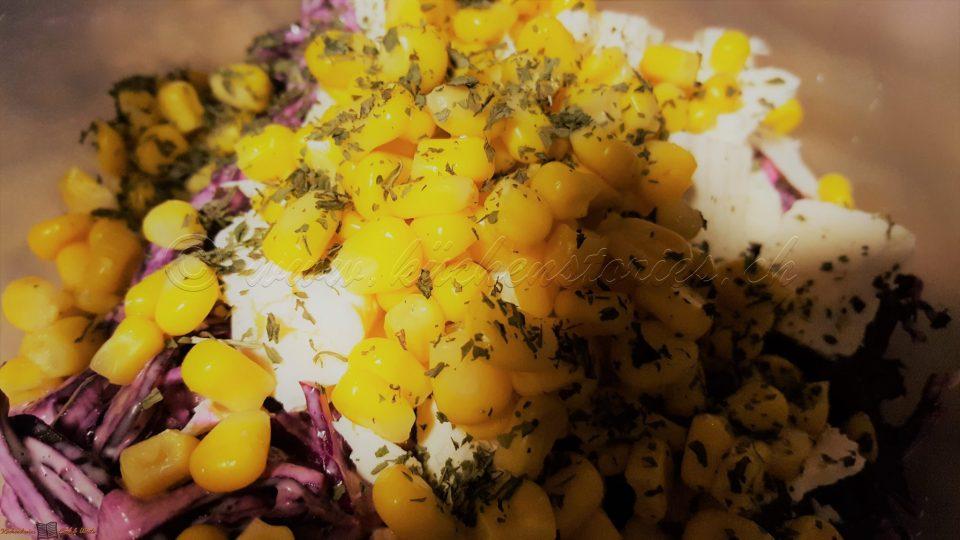 Rohkost-Schichtsalat