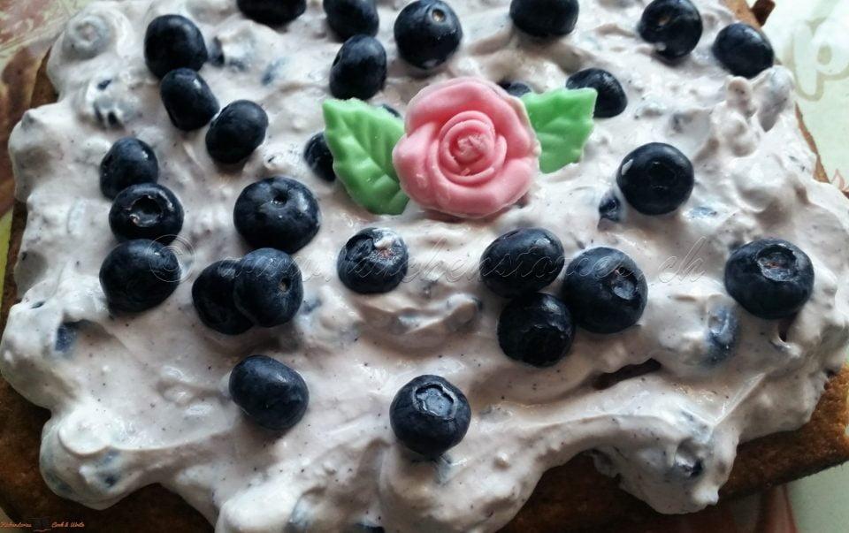 Madeleine-Kuchen mit Ricottacreme