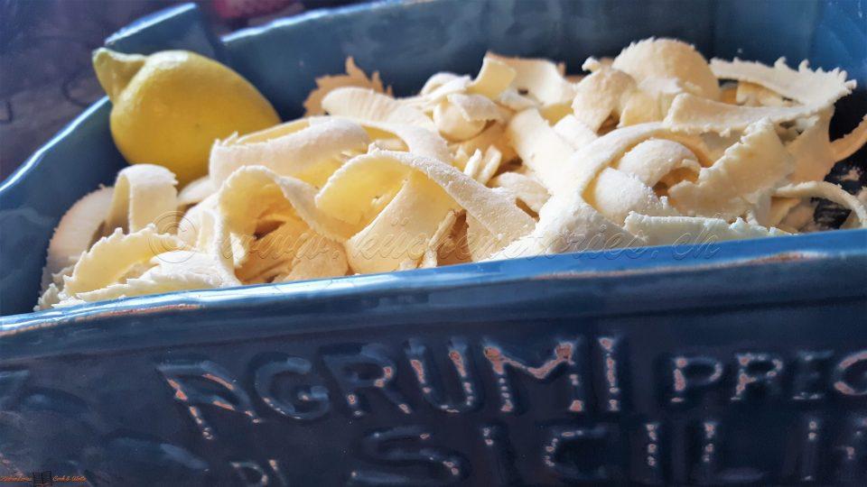 Pasta mit frischer Zitrone
