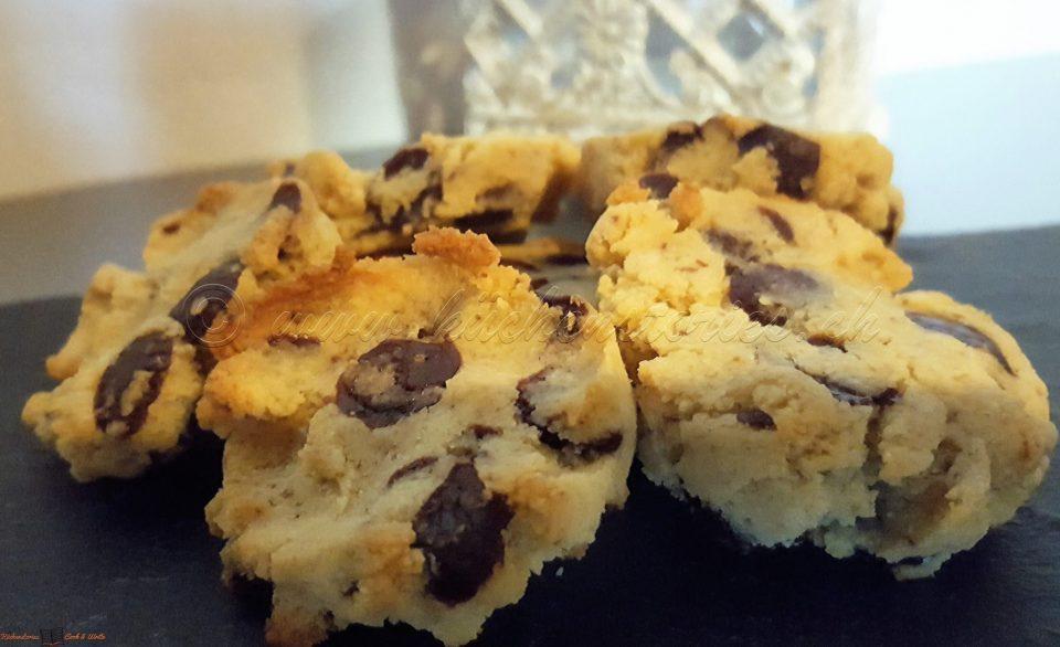 Schokocookies mit Mandelmehl