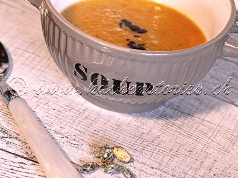 Pastinaken-Karottensuppe