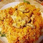 Kurkuma-Curry-Geschnetzeltes