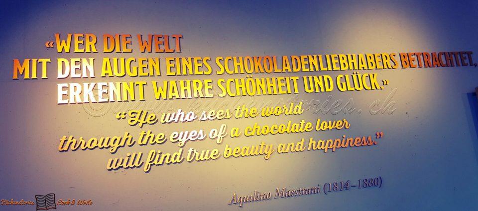 Zu Besuch im Maestrani Chocolarium